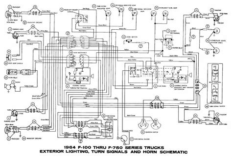 2005 ford f750 wiring diagram wiring diagram for free car wiring interior light turn signals and horn schematic diagram of 19 kenworth truck light