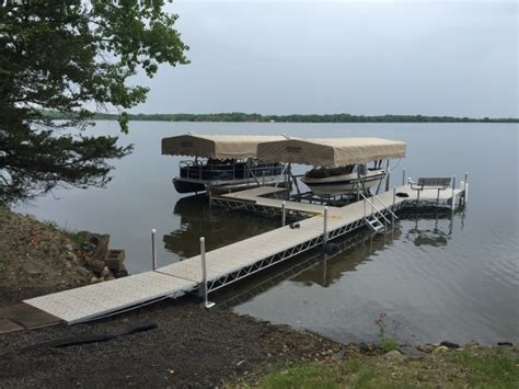 boat lifts for sale wisconsin custom portable boating docks and lifts wi 800 646 4089