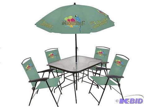 margaritaville 6 pc patio set mankato summer fun