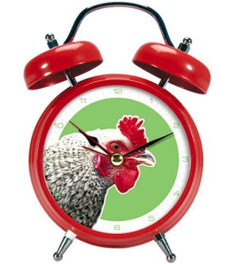 rooster alarm clocks unique alarm clock
