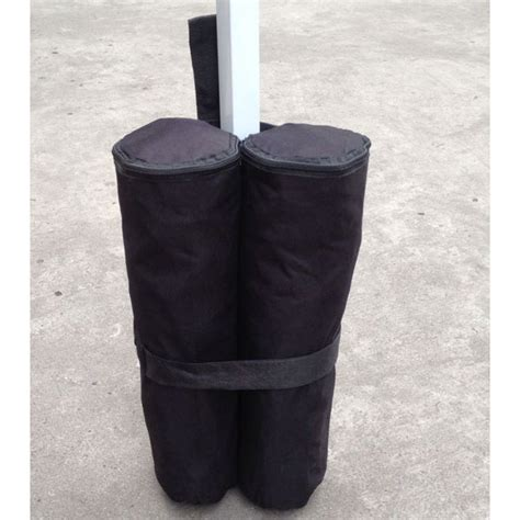 gazebo leg weights 4 x deluxe sandbag leg weights for gazebo four deluxe