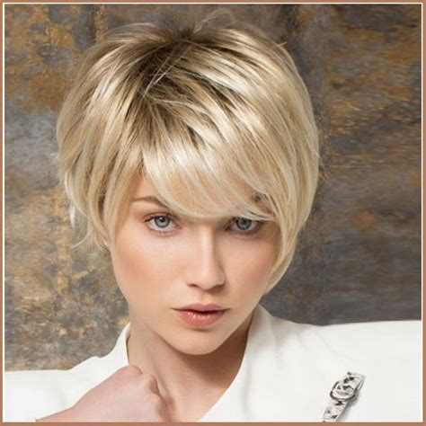 ash blonde pixie ash blonde short straight hair with long bangs pixie style