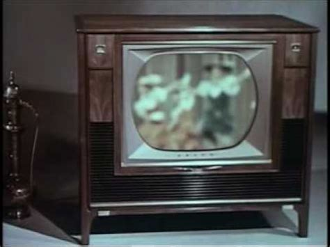 when did color tv come out rca color television commercial 1961