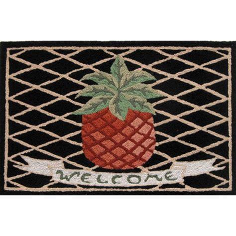 Pineapple Welcome Mat by Shop Jellybean Pineapple Welcome Outdoor Door Mat
