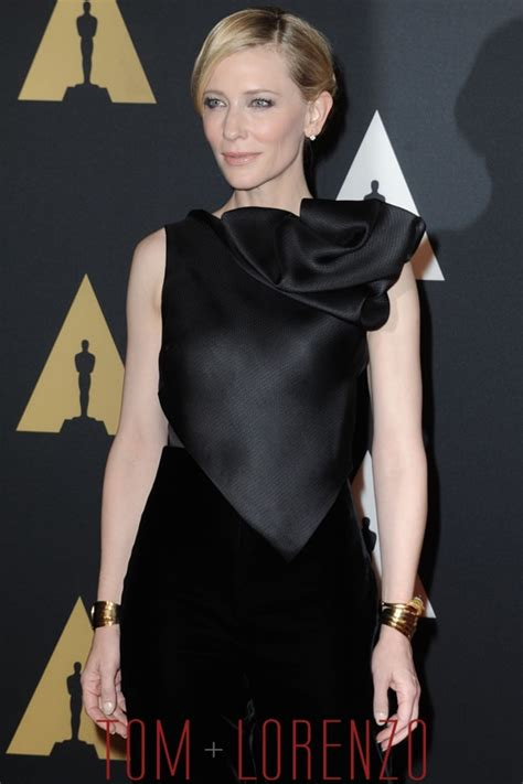 And Cate Blanchett At The Armani Fashion Show by Cate Blanchett In Armani Priv 233 At The 7th Annual Governors