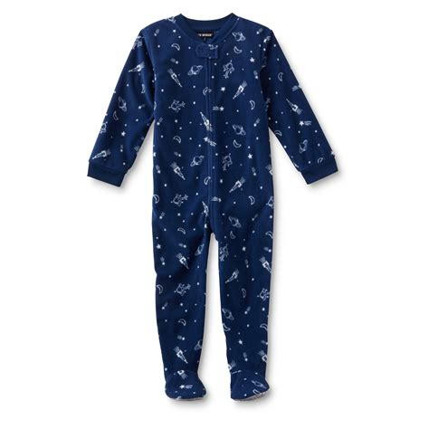 joe boxer infant toddler boy s sleeper pajamas outer space