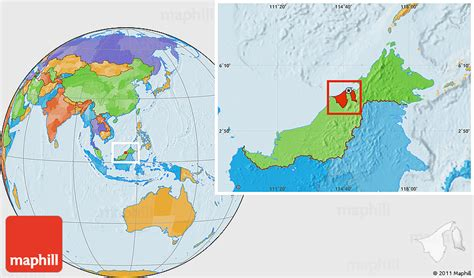 brunei on the world map brunei images