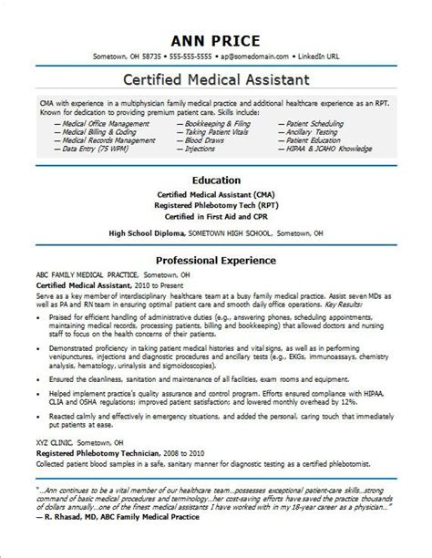 Resume For Healthcare Administrative Assistant by Assistant Resume Sle