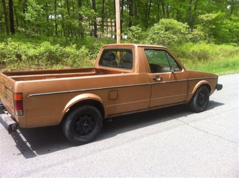volkswagen rabbit truck 1982 1982 volkswagen rabbit pickup tdiclub forums