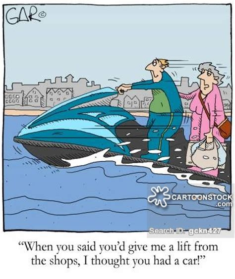 boat driving rules age jet ski cartoons and comics funny pictures from cartoonstock