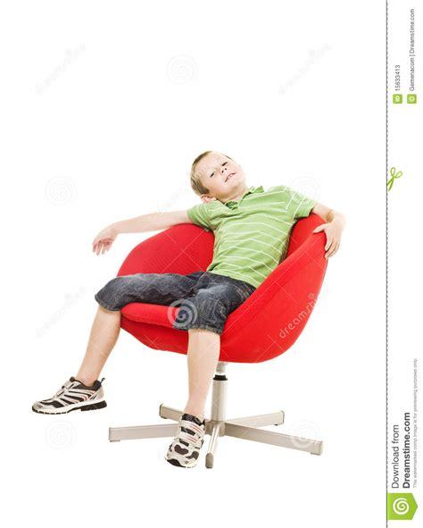 boys armchair young boy in an armchair stock photos image 15633413
