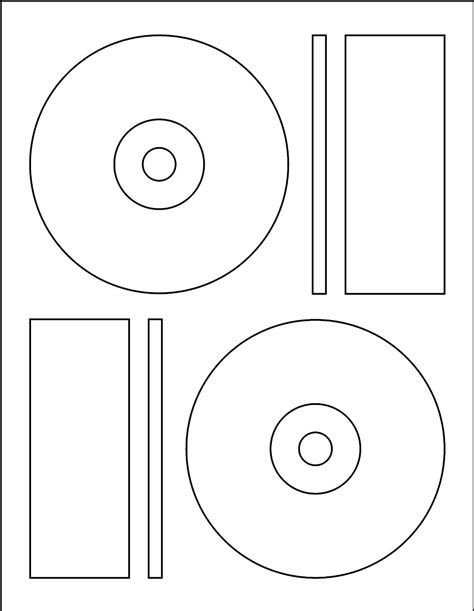 printable cd labels templates free 9 best images of cd label template free cd label
