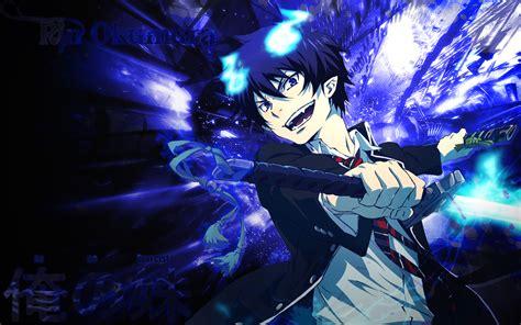 anime wallpaper blue exorcist ao no exorcist otaku daydreams