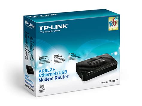 Adsl2 Ethernet Usb Modem Router Td 8817 td 8817 adsl2 ethernet usb modem router tp link united kingdom