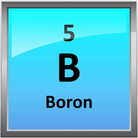 Boron Periodic Table 005 boron science notes and projects