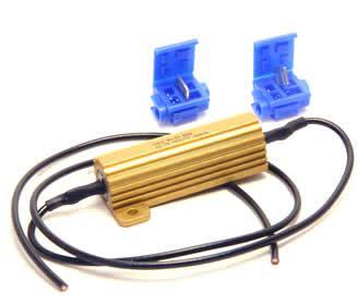 led resistor automotive putco 7443 automotive led light bulb load resistor kit eautoworks