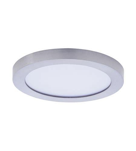 5 inch ceiling light maxim 57710wtsn wafer led 5 inch satin nickel flush mount
