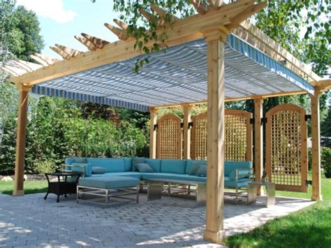 pergola roof options diy retractable pergola canopy schwep