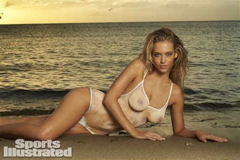 hannah ferguson sports illustrated 2014 body paint hannah ferguson 2014 swimsuit body paint sports