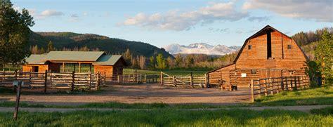 The Ranch the home ranch h 244 tel de luxe et restaurant gastronomique