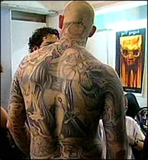2nd northern ireland tattoo convention conventions big bbc news uk england london tattoo fans flock to