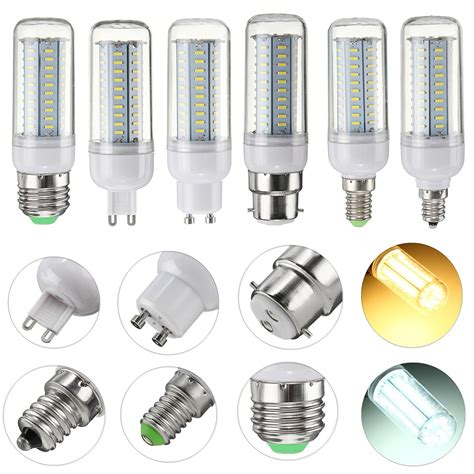 G9 Led Light Bulb Dimmable 6w E27 E14 E12 G9 Gu10 B22 Smd4014 Led Corn Light Bulb