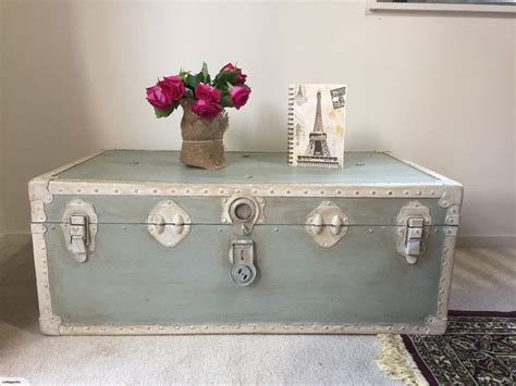 shabby chic trunk coffee table best 25 trunk coffee tables ideas on