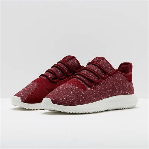 mens shoes adidas originals tubular shadow burgundy by3571