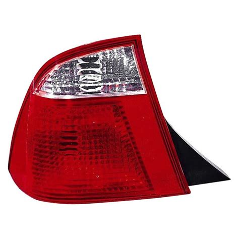 ford focus tail light cover replacement depo 174 ford focus 2007 replacement tail light