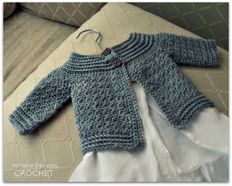 cardigan pattern crochet baby classic baby cardigan by holland designs craftsy