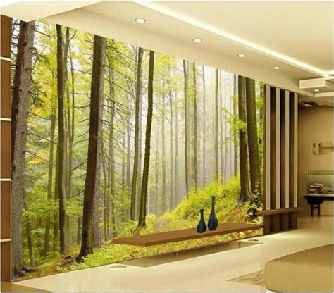 wallpaper for walls house custom mural picture 3d room wallpaper nature forest