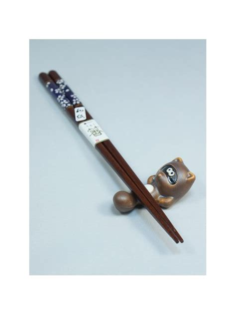 Chopsticks Holder tanuki chopsticks holder