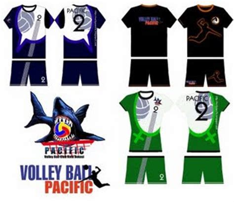 design kaos volly volly