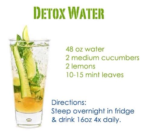 How To Prepare Lemon Water For Detox by Detox Water Trusper