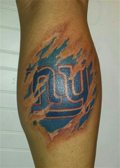 bleed blue tattoo 1000 images about new york giants tattoos on