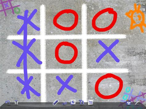 doodle buddy draw with another user how to play tic tac toe using doodle buddy 5 steps