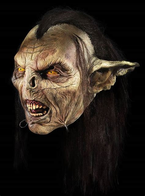 latex tutorial herr der ringe lord of the rings moria orc mask