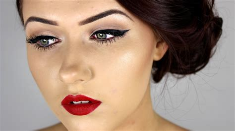 Make Up pin up inspired make up tutorial