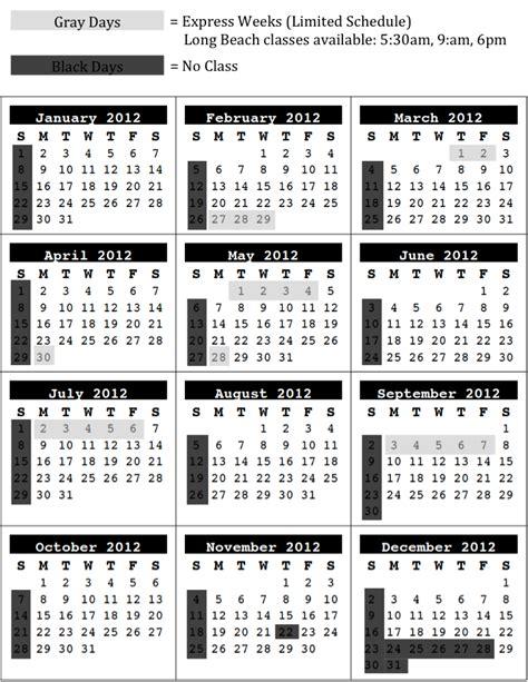 Year At A Glance Calendar Blank Year At A Glance Calendar Template 2016