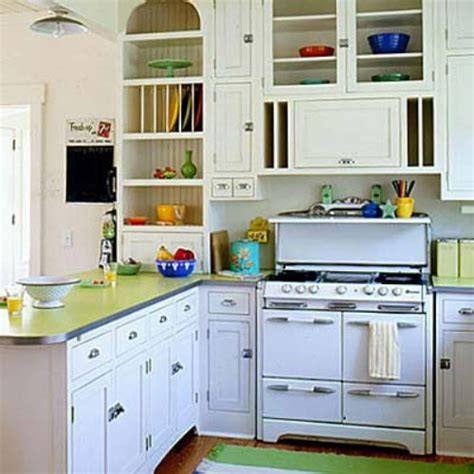 retro style kitchen cabinets diy creating character with vintage stoves soulful abode