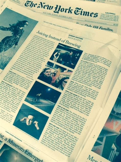 ny times metro section a big media weekend for singlecut and rich singlecut