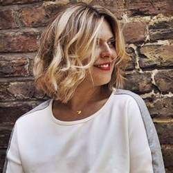 show the back of some modern womens medium length haircuts why has the world gone mad for a wob that s a wavy bob