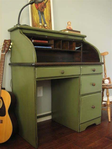 Roll Top Desk Redo by Painted Roll Top Desk Diy Ideas