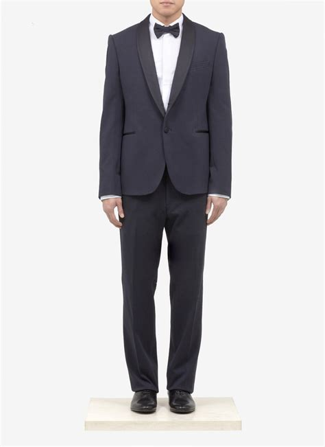 armani tuxedo suit in for men and green lyst
