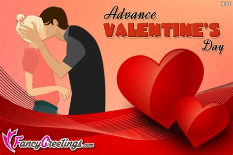 advance valentines day advance wishes