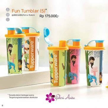 Tupper Ware Tumbler 260ml tumbler tupperware indonesia promo terbaru