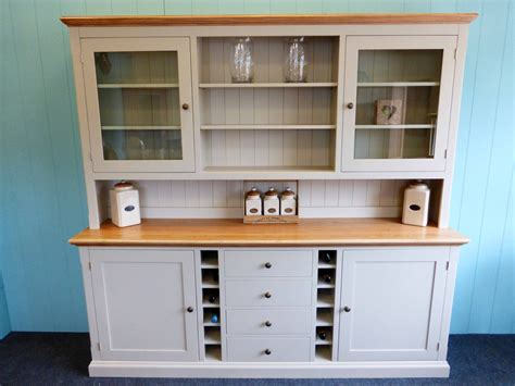 Dresser For Dining Room Bespoke Painted Dresser With Wine Rack Pine Shop Bury