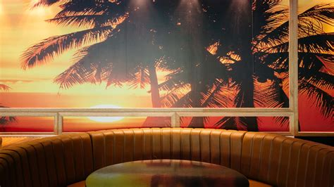 flamingo wallpaper sydney a first look inside kings cross new miami inspired