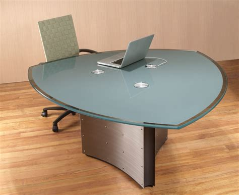modern glass meeting table 3 sided conference tables