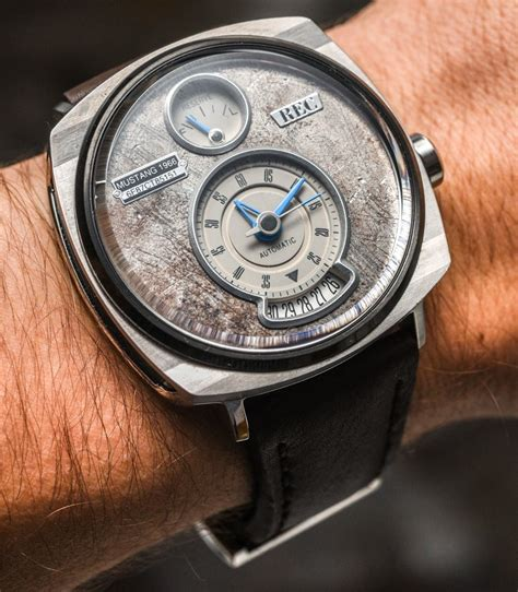 rec p 51 mustang with dials made of vintage ford